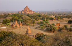 Viele Tempel in Bagan, Myanmar Stockfotos