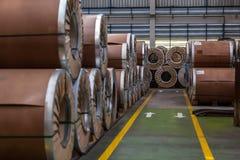 Viele verbogen Stahl Lizenzfreie Stockfotos