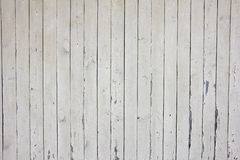 Viele vertikalen beige hölzernen Planken mit Nägeln, Beschaffenheit Lizenzfreies Stockbild
