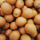 Viele viele von orange Orange stockbild