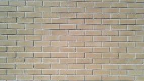 Viele warmen braunen Ziegelsteine auf der Wand Lizenzfreie Stockfotografie