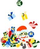 So viele Weihnachtsgeschenke Lizenzfreies Stockfoto