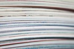 Viele Zeitschriften stockfotografie