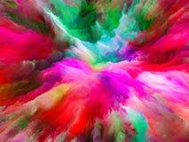 Vielfalt der surrealen Farbe Stockfotos
