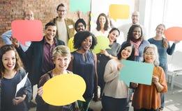Vielfalt Team Community Group des Leute-Konzeptes Stockfotos
