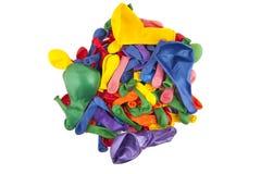 Vielfarbige Ballone Stockfotografie