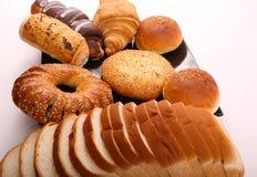Vielzahl der Bäckerei - nahes hohes lizenzfreie stockbilder