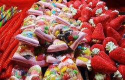 Vielzahl der Süßigkeit Stockbild