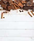 Vielzahl der Schokolade Lizenzfreie Stockfotografie