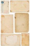 Vielzahl der Weinlese-Papierschrotte Lizenzfreie Stockfotografie