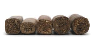Vielzahl der Zigarren Stockfoto
