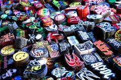 Vielzahl des Baumwollaufklebers für Verkauf Stockbilder