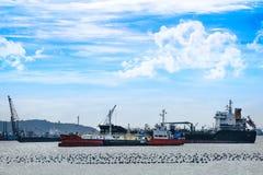 Vielzahl des Frachter-Schiffs lizenzfreie stockfotos