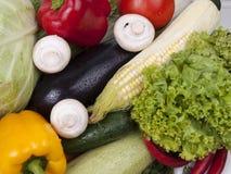 Vielzahl des Gemüses Stockfoto