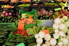 Vielzahl des Gemüses Stockfotos