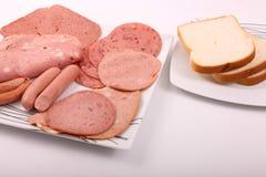 Vielzahl des Luncheon Meat lizenzfreie stockfotografie