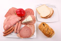 Vielzahl des Luncheon Meat lizenzfreie stockfotos