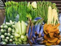 Vielzahl vegatable, Thailand Lizenzfreie Stockfotos