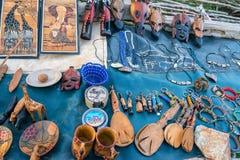 Vielzahl von afrikanischen Andenken Lizenzfreies Stockbild
