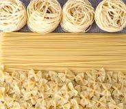 Vielzahl von Arten und von Formen Italienerteigwaren Lizenzfreies Stockfoto
