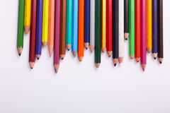 Vielzahl von hölzernen Farben lizenzfreies stockfoto