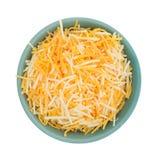 Vielzahl von Käsen in einer kleinen Schüssel Lizenzfreie Stockfotos