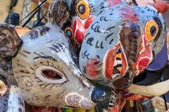 Vielzahl von Masken Lizenzfreie Stockbilder