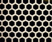 Vielzahl von schwarzen Quadraten Stockfotografie