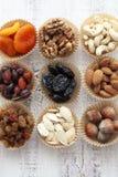 Nuts und getrocknete Früchte Lizenzfreie Stockbilder