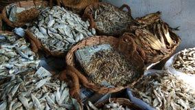 Vielzahl von trockenen Fischen Stockfotografie