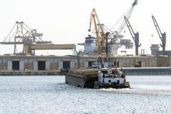 Vielzweckfregatte Marasesti - rumänische Kriegsmarine Stockfotos