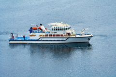 Vielzweckrettungsschiff stockfotografie