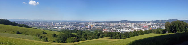 Vien panorama. Shot up from Vien panorama Stock Photos