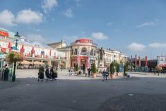VIENA, ÁUSTRIA - 7 DE OUTUBRO DE 2016: Senhora Tussauds Vienna e parque Fotos de Stock Royalty Free