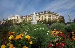 Viena, Áustria - 9-23-2016: O palácio e os jardins de Schonbrunn mim Imagem de Stock
