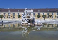 Viena, Áustria - palácio de Schonbrunn fotografia de stock royalty free