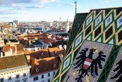 VIENA, AUSTRIA, catedral de StStephan Imagen de archivo libre de regalías
