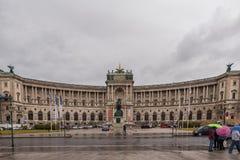 VIENA, AUSTRIA - 6 DE OCTUBRE DE 2016: Burg de Neue, museo Wien de Kunsthistorisches Museo de Art History en Viena, Austria Fotos de archivo