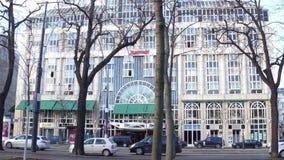 VIENA, AUSTRIA - DICIEMBRE, 24 hoteles de Marriott del lujo Foto de archivo
