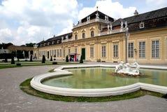 Viena - belvedere, más inferior Imagenes de archivo