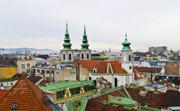 Viena desde arriba Foto de archivo