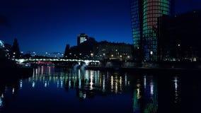 Viena em a noite Imagens de Stock Royalty Free