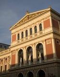 Viena - fachada na luz imagem de stock