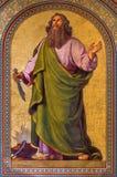 Viena - fresco de Abraham de Joseph Schonman a partir del año 1857 en la iglesia de Altlerchenfelder Imagenes de archivo