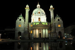 Viena Karlskirche Imagem de Stock