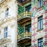 Viena, mayólica Hause Fotografía de archivo libre de regalías