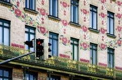 Viena, mayólica Hause Imagen de archivo