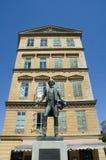 Viena Nestroy Platz, Austria Imágenes de archivo libres de regalías