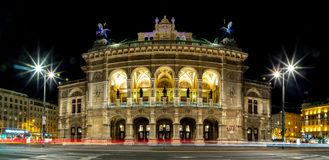 Viena Operahouse II imagem de stock