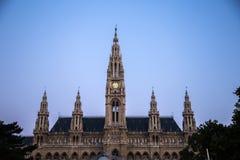 Viena Rathaus Imagenes de archivo